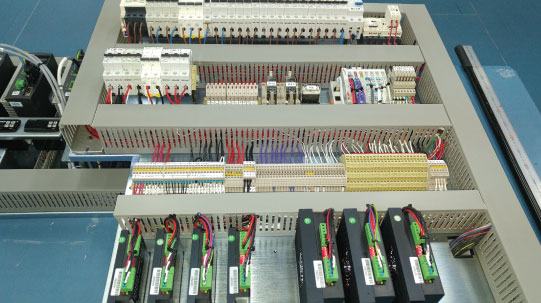 Production and Design of Electrical Cabinets according to Specifications at Full T.K